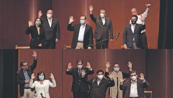 Pedro Castillo y Keiko Fujimori definieron a sus equipos técnicos y se enfrentaron en un debate organizado por el JNE.