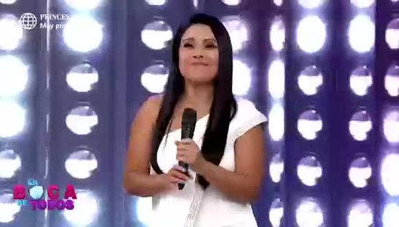 Tula Rodríguez: así fue su regreso a 'En boca de todos' - TROME (Video: América TV)