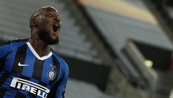 Con goles de Lukaku, Inter vuelve una final europea diez años después de la última vez, cuando ganó la Champions con Mourinho. (Foto: AFP)