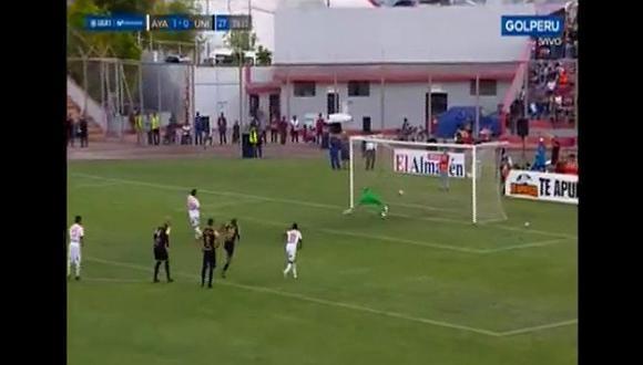 Universitario vs. Ayacucho: José Carvallo salva a los cremas atajando un penal | VIDEO