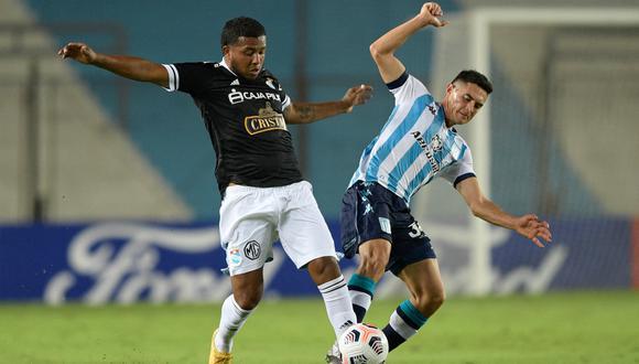 Sporting Cristal vs. Racing: las imágenes del partido en Avellaneda | Foto: @Libertadores