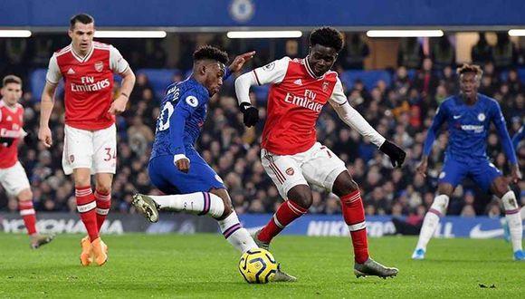 Arsenal vs. Chelsea se enfrentan en la final de la FA Cup. (Foto: EFE)
