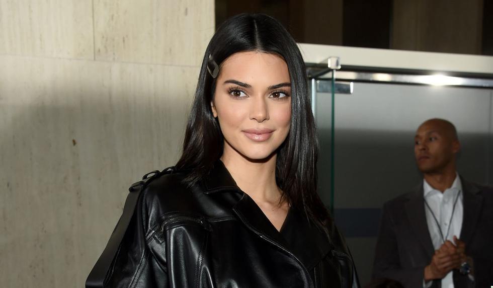 Kendall Jenner es media hermana de Kim Kardashian. (AFP)