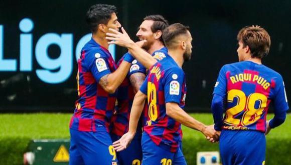 Luis Suárez también puso el 1-0  sobre Celta de Vigo en Balaídos. (Foto: FC Barcelona)