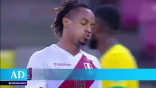 Selección peruana: André Carrillo sufrió lesión y se perdería los duelos de la fecha triple