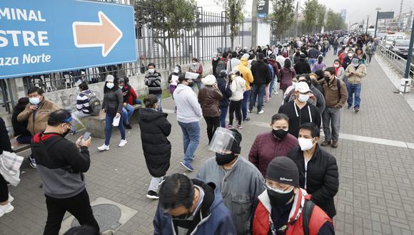 Essalud informa que se realizará el mantenimiento preventivo y mejora del vacunatorio de Plaza Norte, en Lima. (Foto: César Bueno @photo.gec)