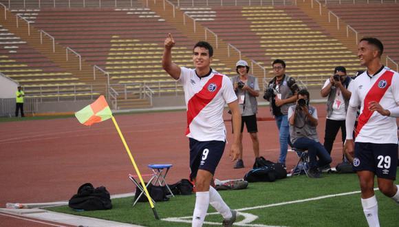 Matías Succar suma tres goles en la Liga 1 de este año. (Foto: Liga de Fútbol Profesional)