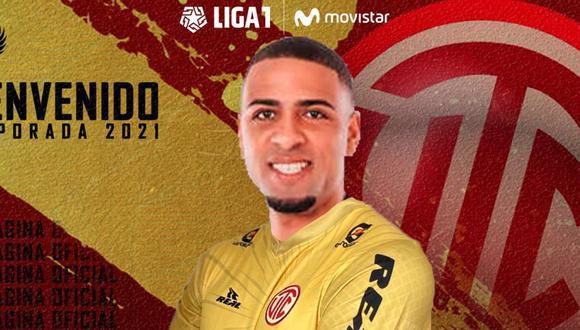 Alexi Gómez jugará esta temporada 2021 en UTC de Cajamarca. (Foto: UTC)