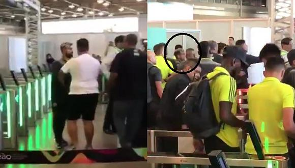 Miguel Trauco | Hinchas de Flamengo 'ajustaron' al plantel y Diego casi se pelea con la 'torcida' | VIDEO