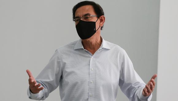El Congreso aprobó la inhabilitación política de Martín Vizcarra por diez años por el 'Vacunagate'. (Foto: GEC)