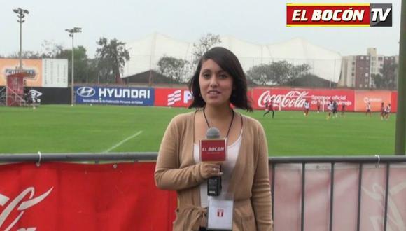 Selección Peruana: EL BOCÓN estuvo en la primera práctica blanquirroja [VIDEO]