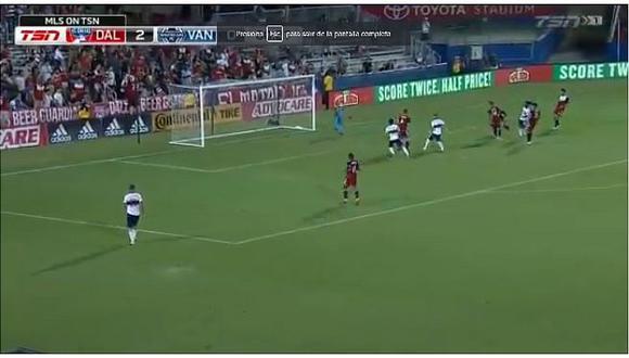 Selección peruana | Yordy Reyna anotó tremendo golazo en empate agónico del Vancouver Whitecaps | VIDEO