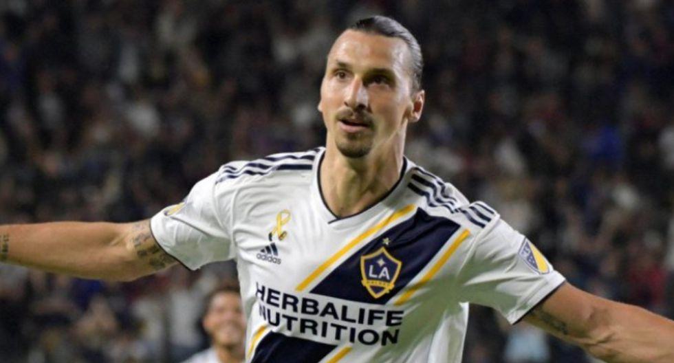 Zlatan Ibrahimovic podría llegar a la Serie A de Italia   Foto: AFP