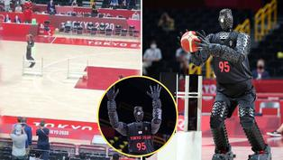 Tokio 2020: Conoce al robot que amenaza con hacer olvidar a los basquetbolistas