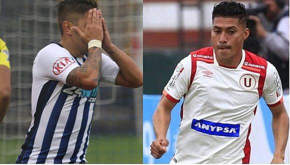 Alianza Lima pudo salvar de la baja a Universitario de Deportes