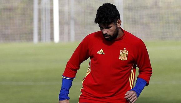 Diego Costa sería baja en España para enfrentar a Macedonia