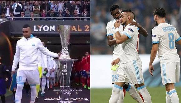 Europa League: tocó la copa, salió lesionado y perdió por goleada