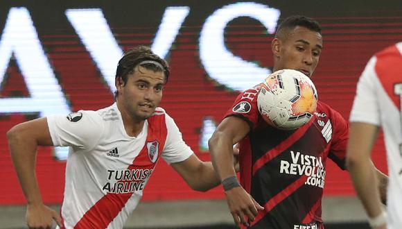 El duelo de ida de la serie terminó 1-1 en Curitiba. (Foto: AFP)