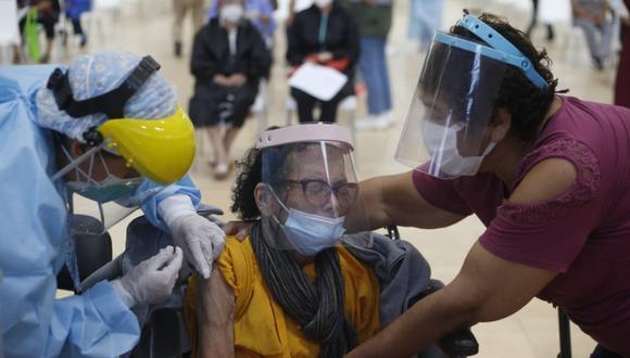 Vacunación a nivel nacional continúa avanzando. Foto: GEC