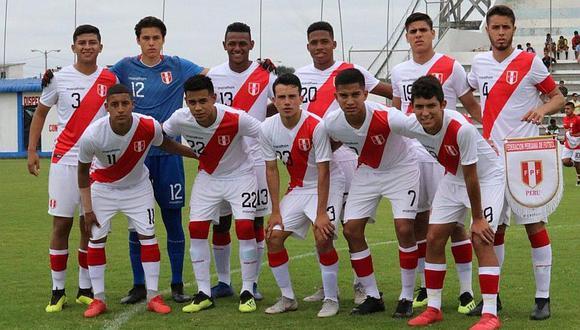 Selección peruana Sub-20: el fixture del Sudamericano en Chile