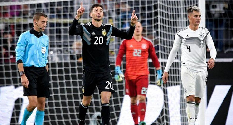 Argentina 1-2 Alemania   Lucas Alario anotó el descuento para la albiceleste   VIDEO