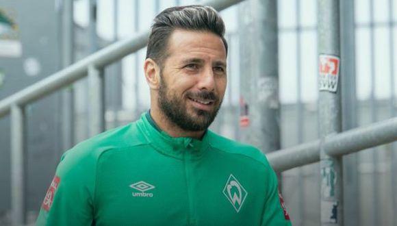 Claudio Pizarro tendrá dos partidos más para posteriormente retirarse del fútbol. (Foto: Werder Bremen)