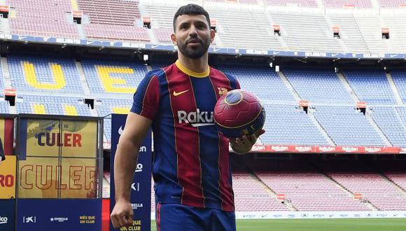 Sergio Agüero tiene contrato con FC Barcelona hasta mediados del 2023. (Foto: FC Barcelona)