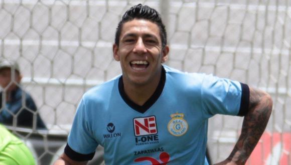 Brian Sarmiento jugó 29 partidos con Real Garcilaso en el 2015 y marcó un total de 7 goles | Foto: GEC
