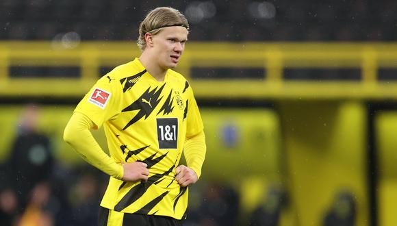 Erling Haaland llegó a Borussia Dortmund en el 2019. (Foto: EFE)
