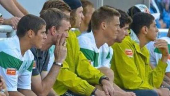 Aldo Corzo se probó en el Werder Bremen el 2010. (Internet)