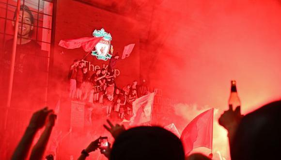 Liverpool se coronó campeón de la liga inglesa después de 30 años. (Foto: AFP)