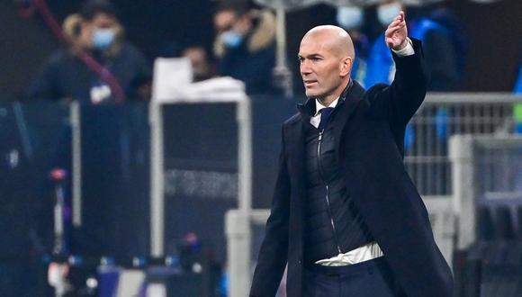 Zinedine Zidane reveló cómo vivió las horas de aislamiento. (Foto: AFP)