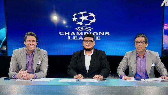 ATV inició con las transmisiones de Champions League y el exfutbolista, Paco Bazan estuvo en el debut televisivo.