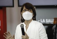 Pilar Mazzetti estima que en las siguientes semanas habrá más casos de COVID-19 que en la primera ola