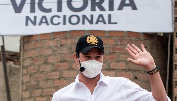 El pasado 10 de febrero el JEE de Lima Centro 1 había ordenado la exclusión de George Forsyth por omitir información en su hoja de vida respecto a los ingresos de sus empresas. (Foto: AFP)