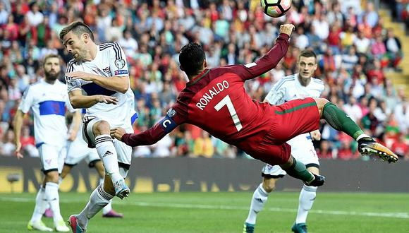 Cristiano Ronaldo anotó Hat-Trick con Portugal y supera récord de Pelé