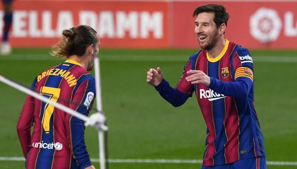 Lionel Messi volvió a la convocatoria de Barcelona. (Foto: AFP)