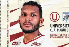 Universitario vs. Carlos Mannucci en vivo: A qué hora y dónde ver el partido por la Liga 1