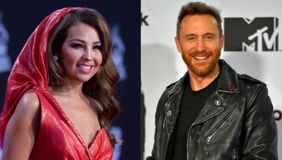 """Thalía, David Guetta y más artistas celebran diversidad con """"Pa' la cultura"""". (Foto: AFP/Bridget Bennett-Ander Gillenea)"""