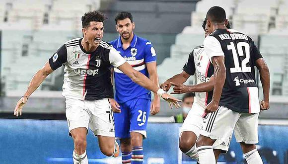 Juventus vs. Roma se enfrentarán en la jornada 38 de la Serie A. (Foto: EFE)