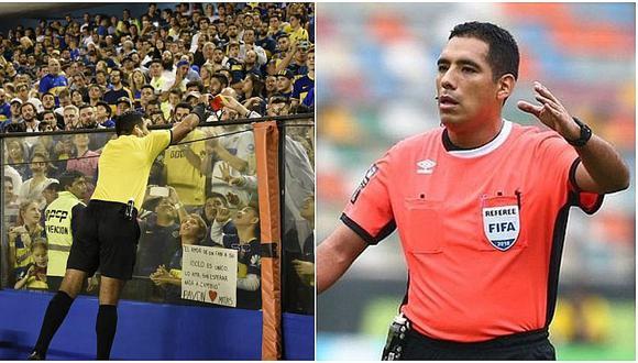 Diego Haro se viraliza en el mundo con gesto a niño de Boca Juniors | FOTOS