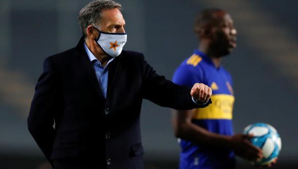 Miguel Ángel Russo habló por primera vez desde que salió de Boca Juniors.  (Foto: EFE)