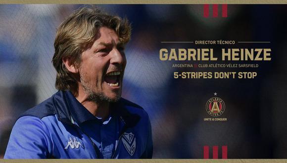 Gabriel Heinze antes había dirigido a Godoy Cruz, Argentinos Juniors y Vélez. (Foto: Atlanta United)