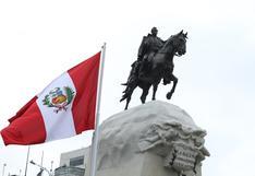 Centro Histórico: así luce el restaurado monumento de José de San Martín   FOTOS