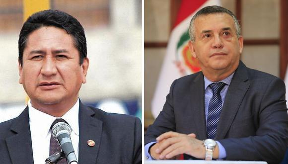 """El exministro del Interior llama """"Tapir"""" a Cerrón y califica de mascota Verónika Mendoza."""