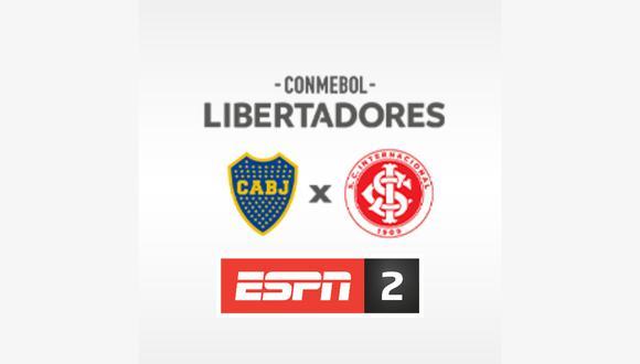 Esta noche sigue en vivo y en directo el partido de Boca Juniors e Internacional desde La Bombonera por la señal de ESPN 2 y Facebook Watch
