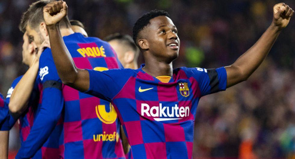 Barcelona renovó contrato con Ansu Fati y lo blindó hasta 2022