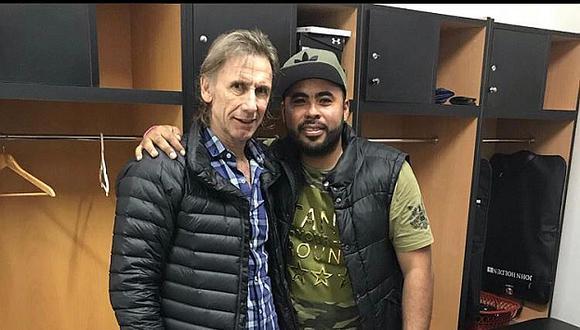 El 30 de setiembre del año pasado, Donny Neyra visitó a Ricardo Gareca. (Foto: Instagram)