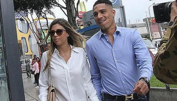 La modelo se mostró feliz y agradecida de que Paolo Guerrero se haya recuperado de su lesión en la rodilla.