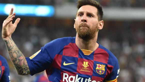 Lionel Messi comparte el Premio Laureus con Lewis Hamilton. (Foto: AFP)